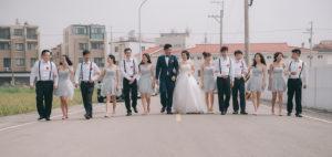 婚禮拍攝類婚紗時機